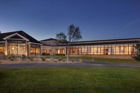 reception dusk doubletree by hilton the westerwood